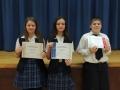 Jr High Math Bee Finalists - Math Bee Jan. 2017