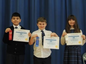 Middle School Math bee Finalists - 2/2015